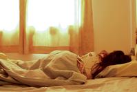 Sleeping wife