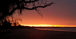 Lake Pamamaroo Outback Sunset