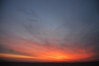 sunset ijmuiden
