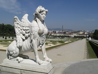 Vienna - Belvedere garden