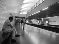 metro station of lisboa