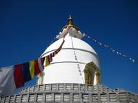 Pagoda in Pokhara