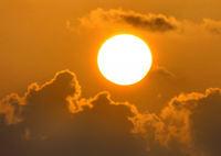 Golden Hazy Sunrise