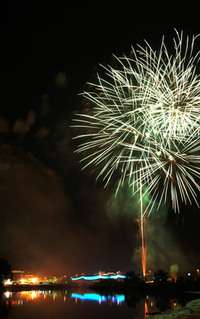 Fireworks in Brunei