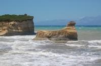 Sidari coast