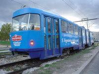 tram in Sarajevo