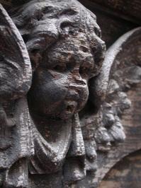 wooden angel 1