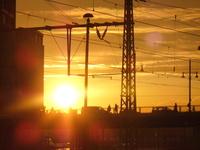 berlin sunset 1