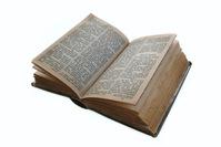 yellowed bible