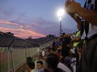 Fans on football match Partiza