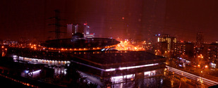 katowice (poland) city at night