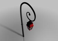 Pole Light | Art Nouveau 3