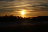 Wintery Sunrise 1