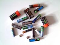 empty batteries