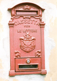 Italian postbox