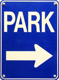 Parkade Sign 2