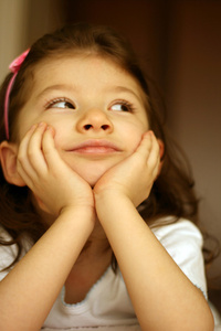 thinking her future