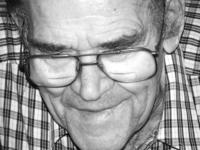 elderly man wearing glasses