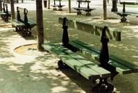 parkes bench garden