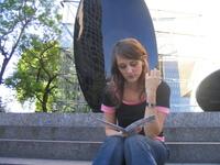 girl reading 3