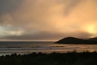 Whitesands bay sunset 2