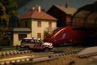 Speeding ticket by train