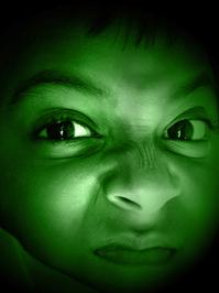 Hulk Style Portrait