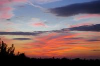 tramonto a Napoli