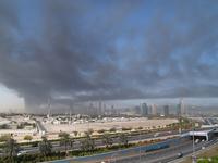 Dubai in Smoke