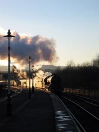 Evening Steam 1