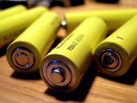 yellow batteries