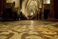Dutch church interior