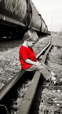 Boys by the treain track 1