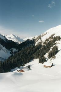 Mountains in Vorarlberg