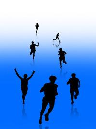 Runners Silhouette 3 1
