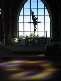 Church in Shadow