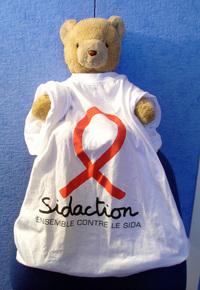 Teddy bear sidaction