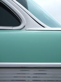 1957 Chevrolet Bel Air (mint green) 2