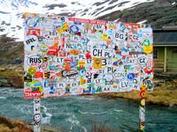 Trollstigen tourist sign