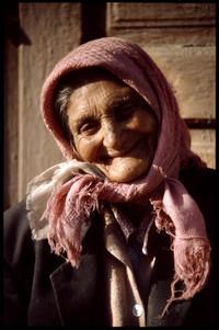 poor beggar woman