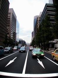 Tokyo Road - Oncoming Traffic