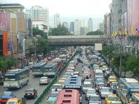 Bankok traffic 1