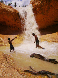 Waterfall at Bryce 8