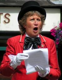 Female Town Crier