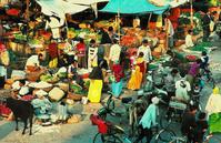 Market in an Indian village