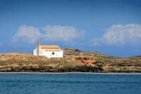 Old church near sea