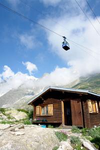 Wood house - Mont Blanc
