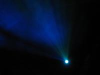 Blue Concert Light