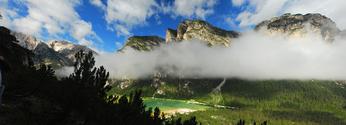 Panorama in Dolomites
