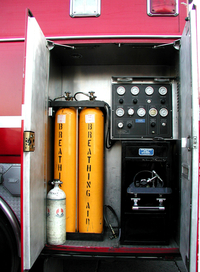 Fireman's breathing air